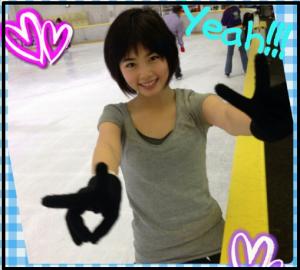 小芝風花スケート3