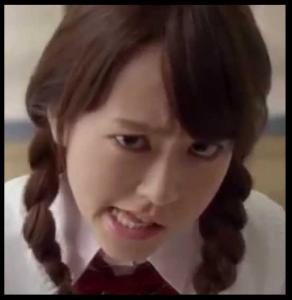 桐谷美玲変顔はとり