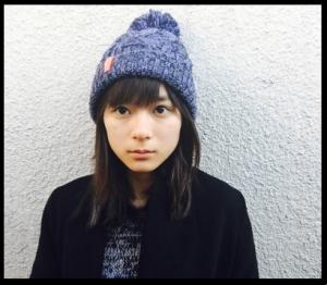 芳根京子ニット帽