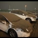 【阿蘇山噴火】降灰の車への影響や対策は?雨で固まるがNGな対処法とは!