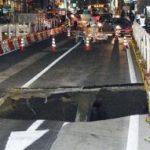 博多駅付近道路が陥没した原因とは?施工業者はどこ?【画像】